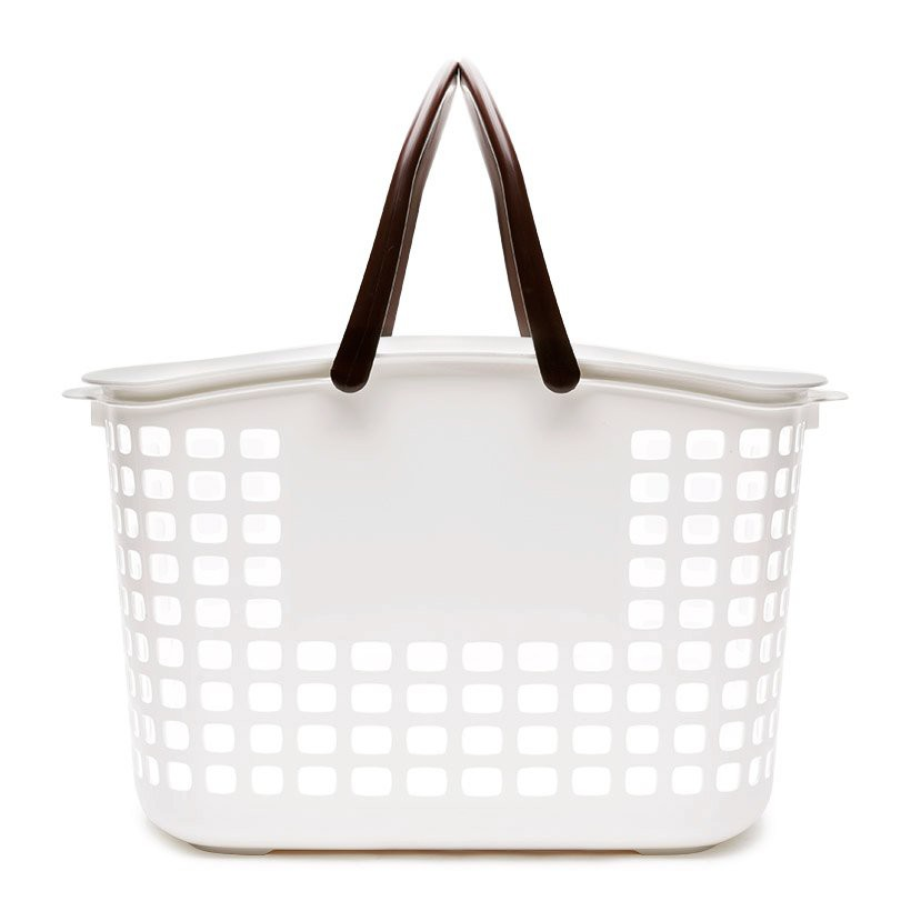 Giỏ đựng đồ giặt Modern Feel Lustroware Nhật Bản cỡ trung L_5032WB