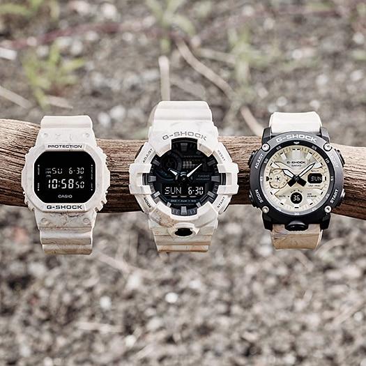 [Mã FARSBRT52 giảm 20% đơn từ 249K] Đồng hồ Casio G-Shock Nam GA-700WM-5ADR bảo hành chính hãng 5 năm - Pin trọn đời