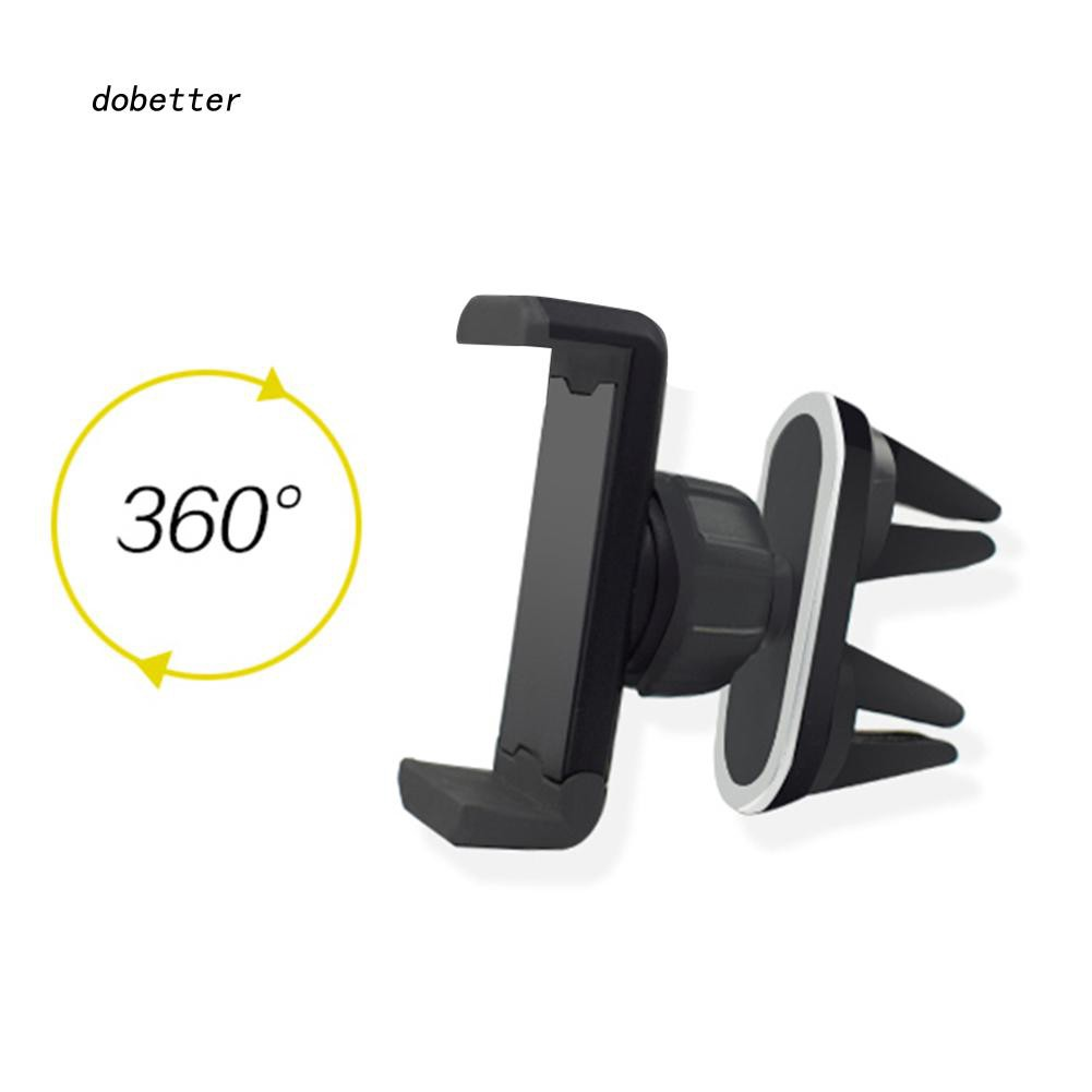 DOBT_Universal 360 Degrees Rotation Car Styling Air Vent Mount Phone GPS Holder Stand