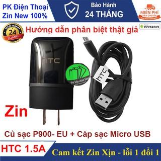 Bộ sạc HTC 1.5A Chính hãng dành cho HTC ONE M7, M8, M9, M10 - Cam kết Zin máy