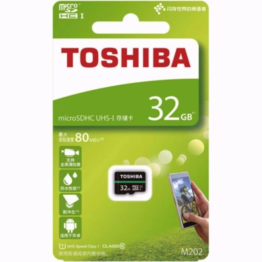 THẺ NHỚ 32GB TOSHIBA Micro SDHC 100MB/s M203