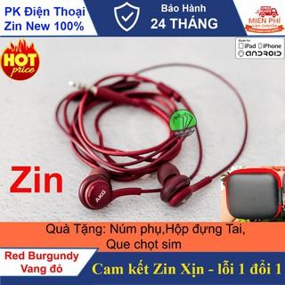 [Tặng kèm hộp đựng] Tai nghe AKG S9 Plus phiên bản giới hạn ,màu Vang đỏ cực đẹp