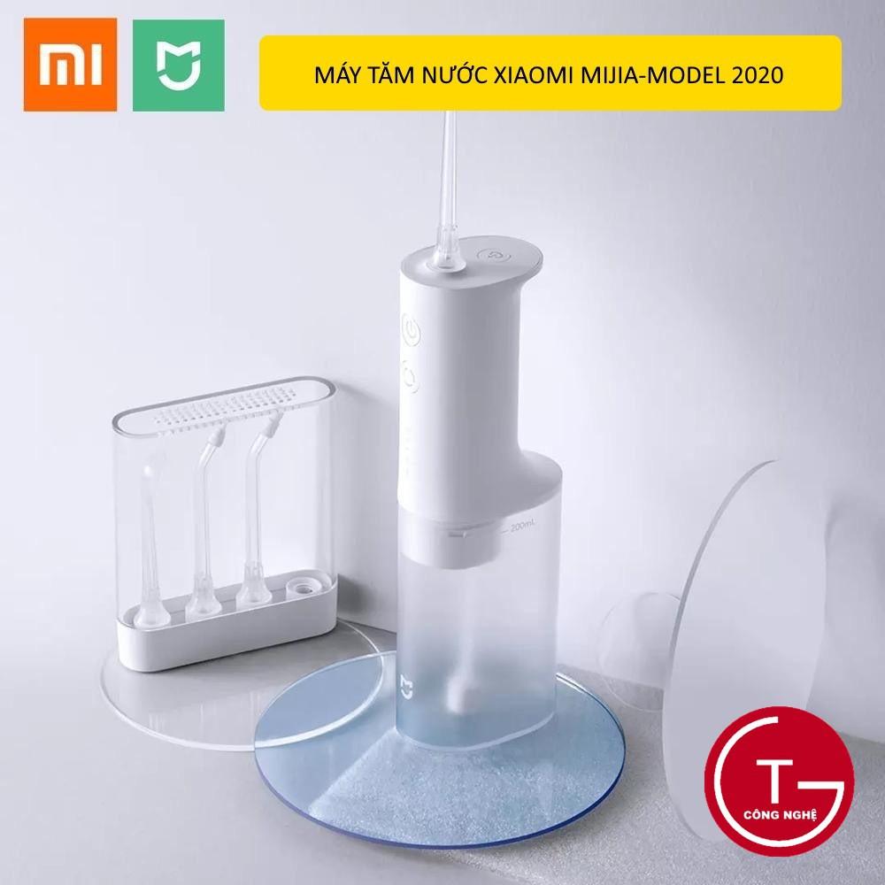 [Model mới 2020] Máy tăm nước Xiaomi Flosser MIJIA Electric 4 đầu vòi -Tần số cao 1400 lần/phút Model mới nhất 2020