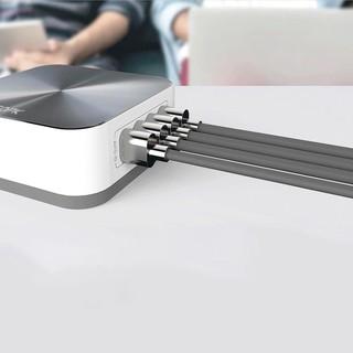 Bộ sạc TOPK B829Q để bàn 8 cổng đa chức năng Chính Hãng Hỗ trợ sạc nhanh Cho IPad Pin Dự Phòng Cáp Sạc Airpods IPhone