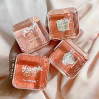 Bộ Trang điểm Kiss Beauty So cute, gồm 11 món makeup siêu xinh. Tặng kèm cho Nàng 1 túi đựng mỹ phẩm chông nước. 3