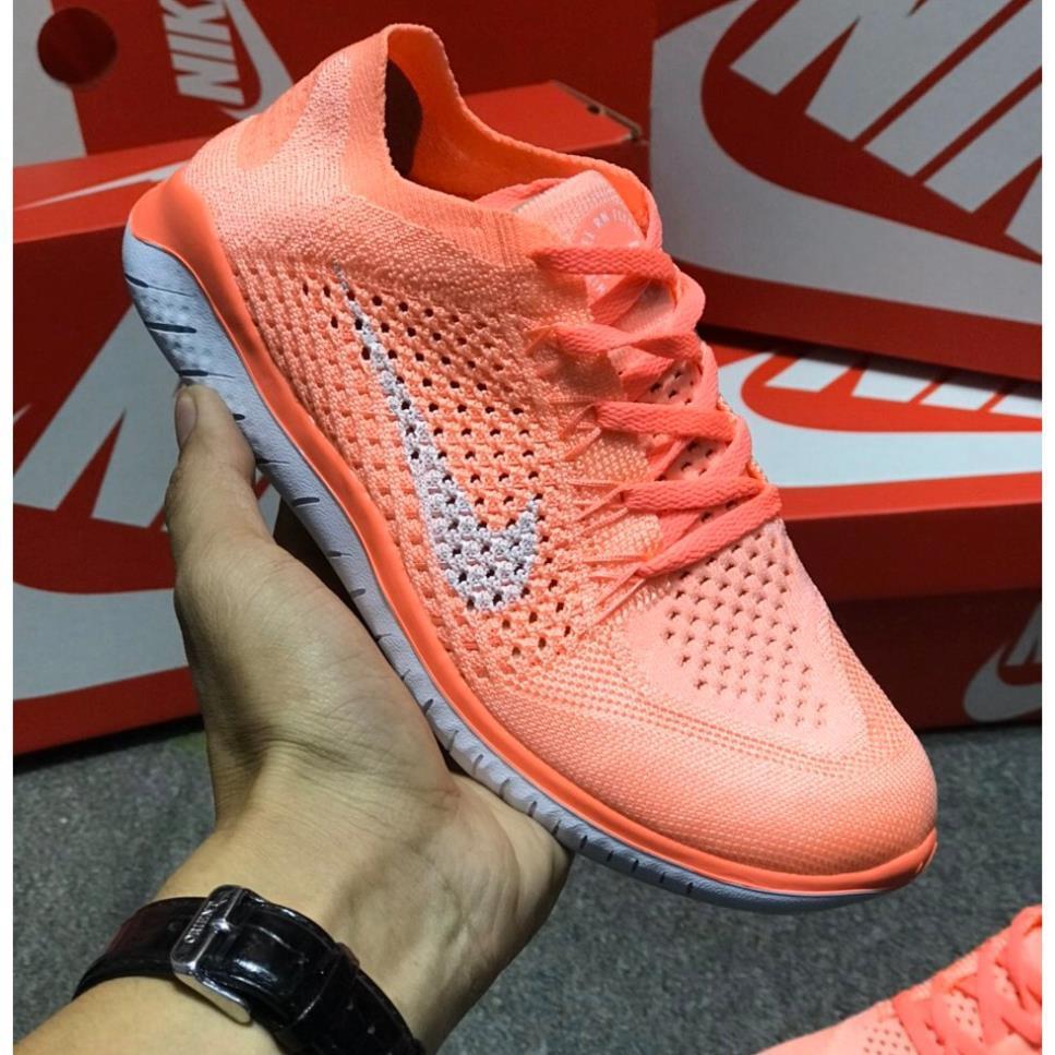 Giày Nike Free 5.0 Women's Hồng Cam [Chính Hãng - Fullbox] Siêu Bền