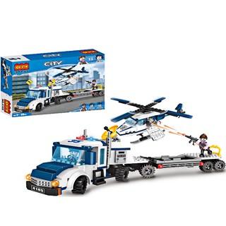 W084544 – 329PCS Đồ chơi Lego City Đội cảnh sát tuần tra 4165