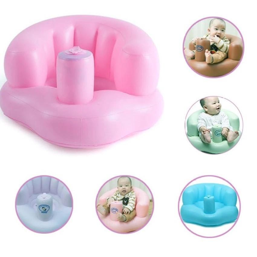 Ghế hơi tập ngồi cho bé ( màu hồng)