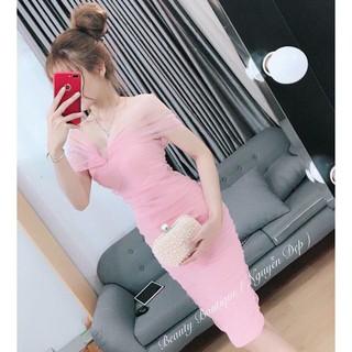 Đầm body, kim tuyến phối lưới Fashionkenken