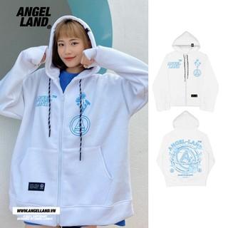Áo Angel-land chính hãng A-Classic zip hoodie thumbnail
