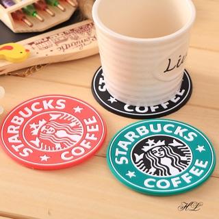Miếng lót ly cốc Starbucks - Lót ly chống trơn trượt chất liệu cao su