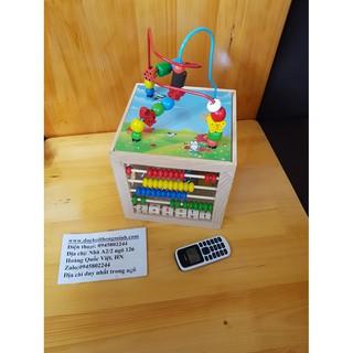 Đồ chơi Hộp khối đa năng – Đồ chơi giáo dục gỗ an toàn
