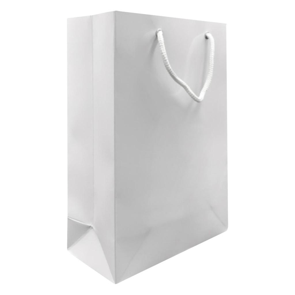 Túi giấy trắng đẹp các cỡ - Combo 10 chiếc | Shopee Việt Nam