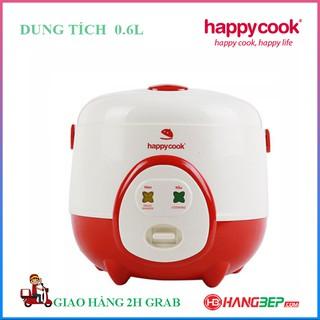 Nồi cơm điện nắp gài Happycook 0.6 lít HC-60 - Đỏ