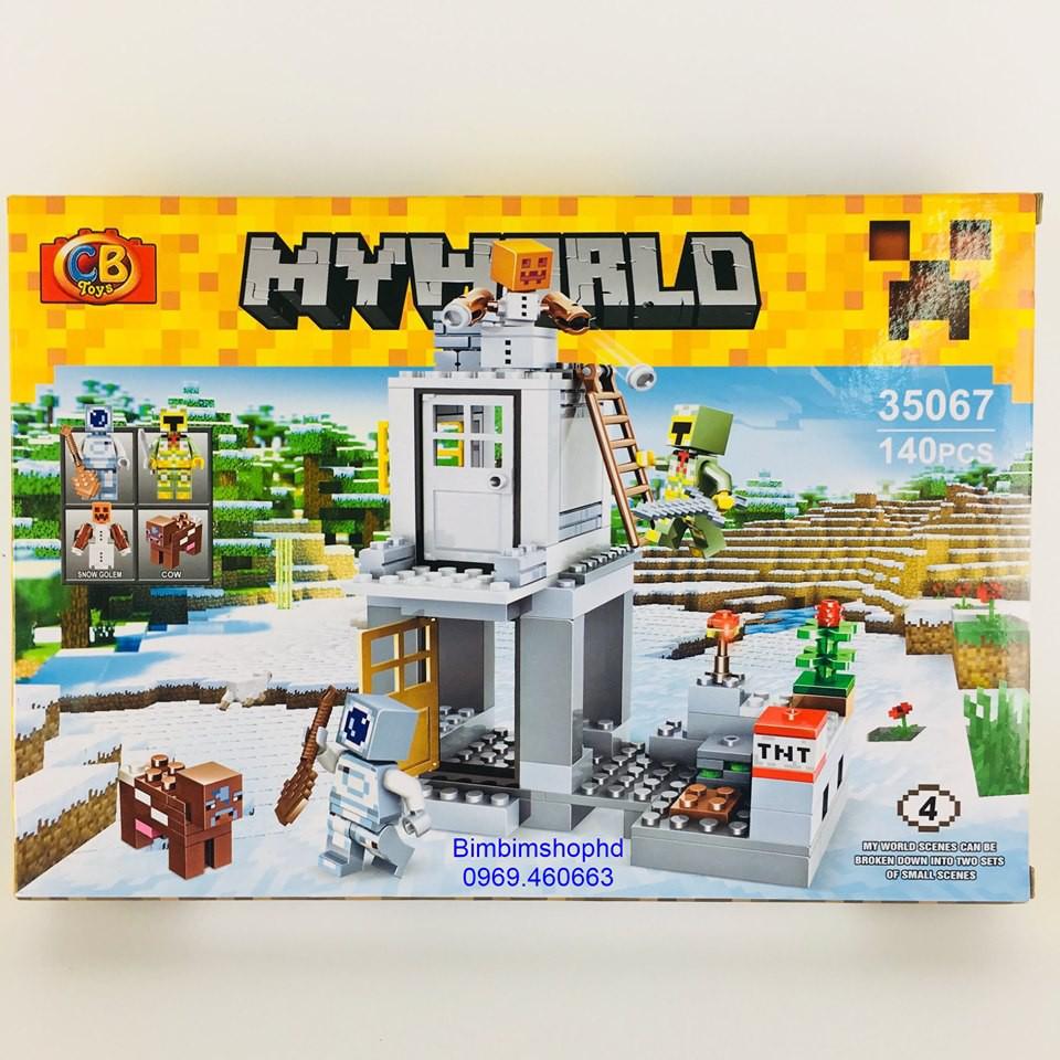 Đồ Chơi Lego Xếp Hình Thông Minh cho bé