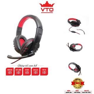 Tai nghe chụp tai Extra Bass có mic cho game thủ W-160 ,bảo hành 6 tháng.shopphukienvtq