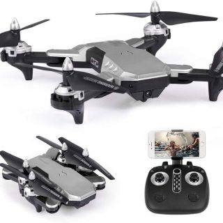 Máy bay điều khiển từ xa Flycam có Camera Full HD 1080P FPV trực tiếp tự cân bằng
