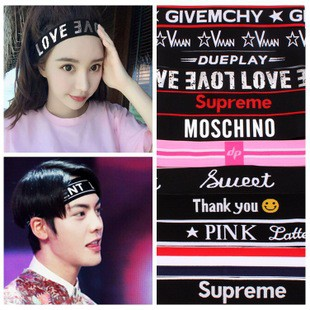 Băng đô Headband KPOP BTS, BIGBANG, SUPERME - ẢNH