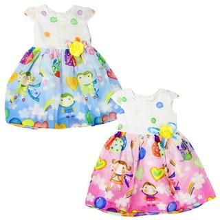 Xả hàng Váy Đầm Bé Gái vải nhập Cao Cấp mềm mát Giá Sốc