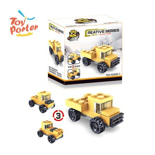 Transformation Assembly Car Model Kids Children Developmental Toy Gift