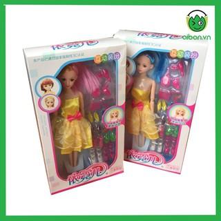 Búp Bê Barbie Hộp Có Trang Sức Và Giày (BB6607)