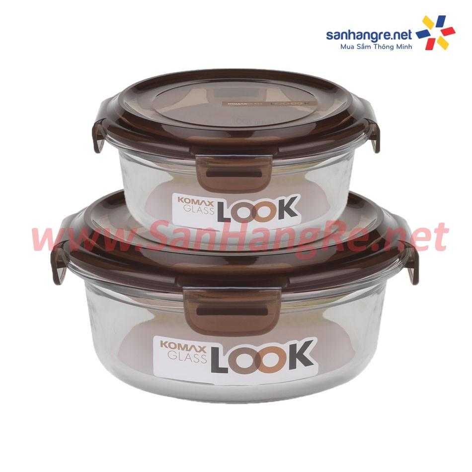 Bộ 2 hộp thủy tinh cao cấp Komax Hàn Quốc CM2 - 2462675 , 120333229 , 322_120333229 , 295000 , Bo-2-hop-thuy-tinh-cao-cap-Komax-Han-Quoc-CM2-322_120333229 , shopee.vn , Bộ 2 hộp thủy tinh cao cấp Komax Hàn Quốc CM2