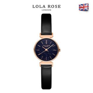 Đồng hồ nữ dây da bò Lolarose, mặt tròn đá cẩm thạch tím Galaxy cao cấp chống nước , đồng hồ đơn bảo hành 2 năm LR2048 thumbnail