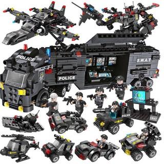 Bộ đồ chơi xếp hình LEGO CẢNH SÁT 700 mảnh ghép kích thích trí thông minh và sáng tạo của trẻ