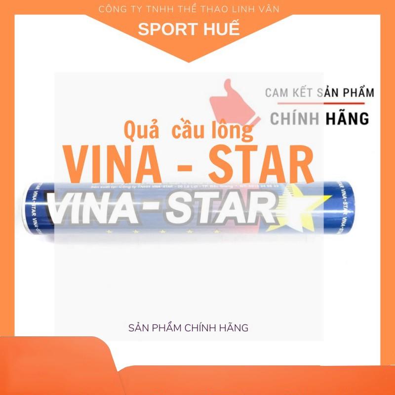 ỐNG CẦU LÔNG VINA STAR (12 quả) - Hàng phân phối chính thức - Sport Huế