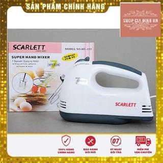 Máy Đánh Trứng Cầm Tay Scarlett 7 Tốc Độ (Giá Rẻ) thumbnail
