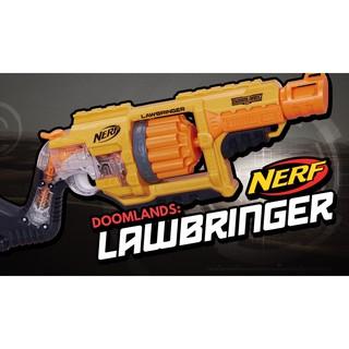 Đồ chơi Nerf Law Bringer + 20 thanh xốp