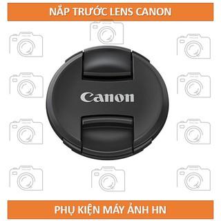 Nắp lens Canon phi 49mm/52mm/55mm/58mm/62mm/67mm/72mm/77mm/82mm