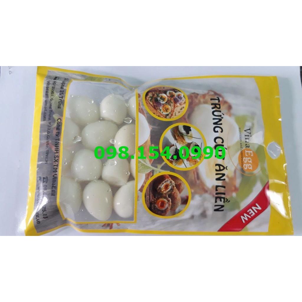 Trứng cút ăn liền