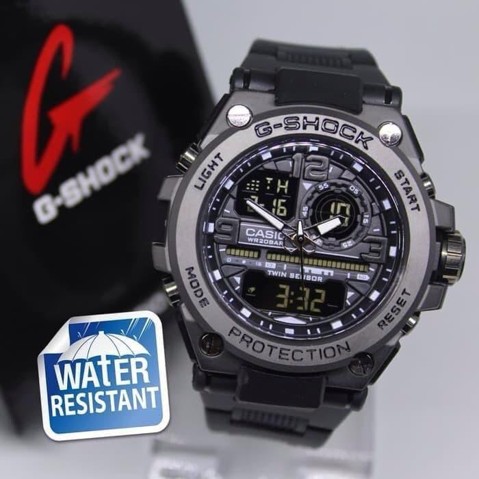 Đồng hồ nam Casio G-shock  GTS 8600 Original –Chống nước 20Bar Viền Thép không gỉ, Nam tính, 45mm
