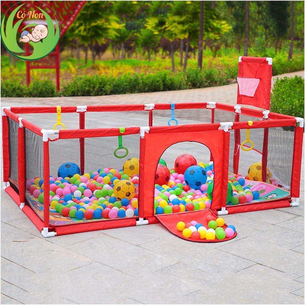 [Mã SKAMLTS7 giảm 10% đơn 150K] Quây bóng, Lều bóng chữ nhật cho bé (tặng kèm bóng nhựa nhiều màu)