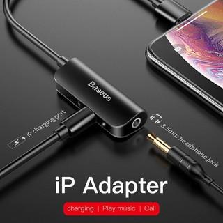 Bộ chuyển cổng Lightning sang Audio AUX 3.5mm + Lightning cho iPhone Vừa sạc pin vừa nghe nhạc, có hỗ trợ Micro