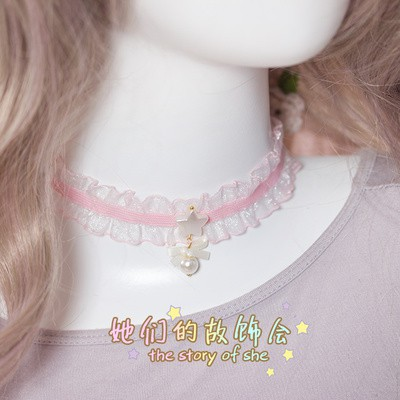 Vòng Cổ Lolita - Choker Kawaii