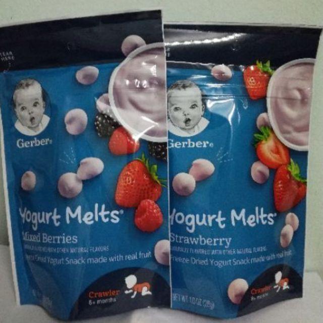 Hàng air date 2020) Sữa chua khô Gerber đủ vị   SaleZone Store