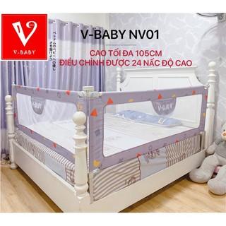 [G02] Thanh chắn giường Nhật Bản V-BABY NV01 & N1 hàng cao cấp ( 1 hộp 1 thanh ) S018 thumbnail
