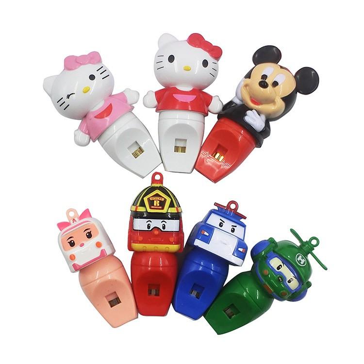 Còi đồ chơi kiểu hoạt hình dễ thương cho bé
