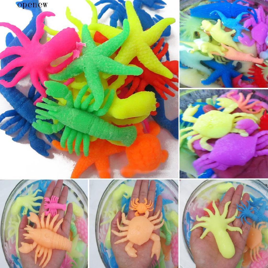 op Children Educational Learning Expandable Oceanic Animals Toys