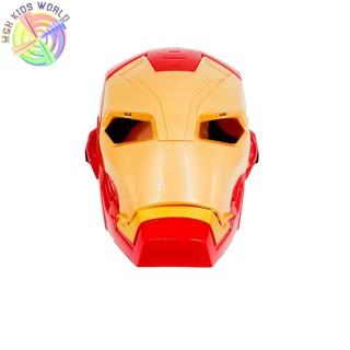 Mặt nạ Người Sắt IRON MAN (new) có đèn nhạc, đồ chơi trẻ em lứa tuổi 3+ mặt nạ hóa trang, halloween, trang phục cosplay