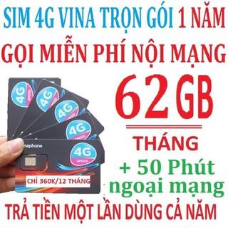 { XẢ KHO 3 NGÀY } Sim 4G Vinaphone VD89 12T Trọn Gói 12 Tháng Không Nạp Tiền