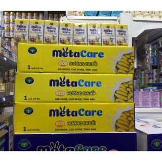 Thùng sữa nước Metacare eco (hương chuối) 110ml