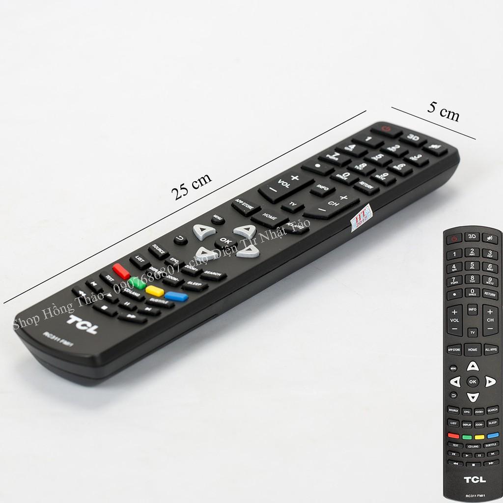 Remote Tivi for TCL - RC311FMI1 không hộp - 2783766 , 319290847 , 322_319290847 , 105000 , Remote-Tivi-for-TCL-RC311FMI1-khong-hop-322_319290847 , shopee.vn , Remote Tivi for TCL - RC311FMI1 không hộp