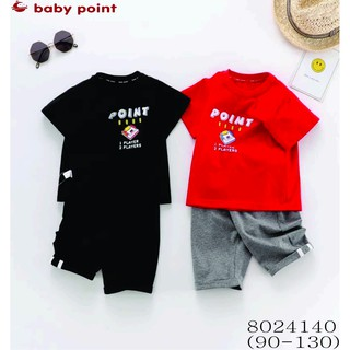 Hàng hè 2020 Sét bộ BabyPoint cho bé size 2y - 7y, dành cho bé từ 13kg đến 26kg, chất cotton mềm mịn