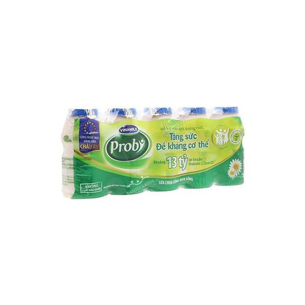 Sữa chua uống men sống Vinamilk Probi có đường 65 ml
