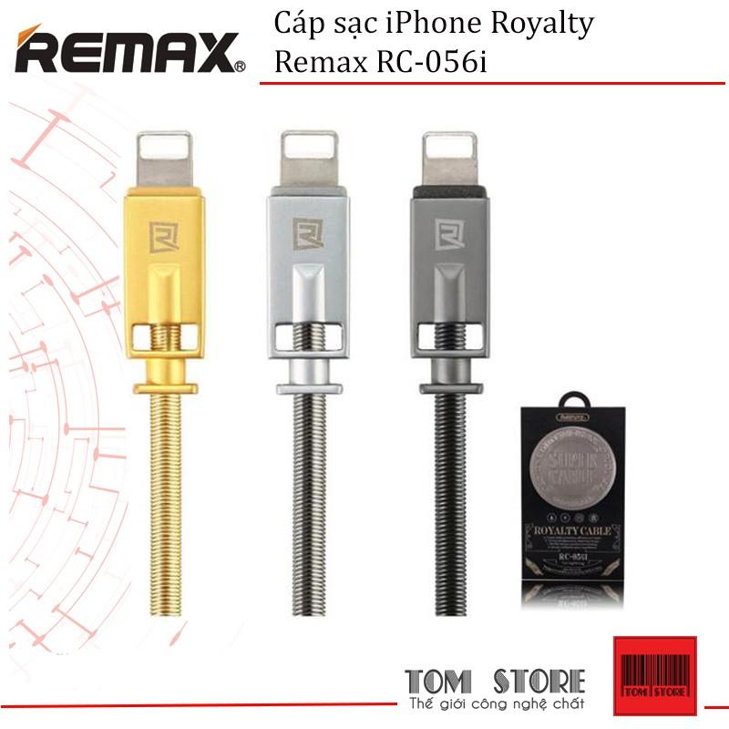 Cáp sạc bọc thép Royalty Remax RC-056