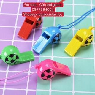 Còi nhựa hình quả bóng - giáo cụ chơi game thumbnail