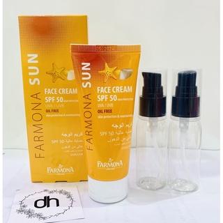 Kem chống nắng dành cho da dầu Farmona sun face cream 50ml thumbnail